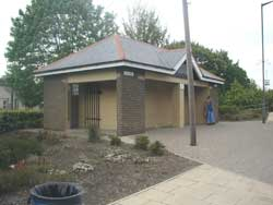 Ferryhill station public conveniences building