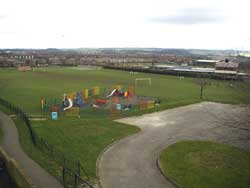 King George the V playing ground and equipment