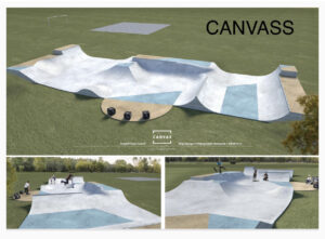 Canvass Skatepark Design