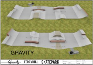 Gravity Skatepark Design